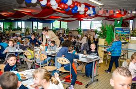 Semaine gastronomique US à Lys lez Lannoy